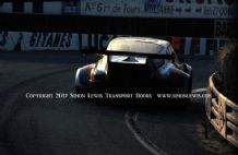 Porsche 911 Carrera RSR Turbo Muller/Van Lennep.Photo at Ttrtre Rouge. 2nd  Le Mans 1974